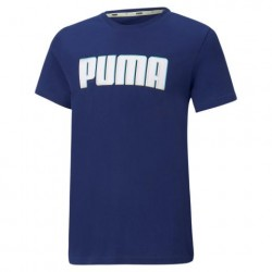 PUMA 585887 T-SHIRT JUNIOR ALPHA GRAPHIC TEE